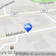 Kartta Neste A24-automaattiasema Valkeakoski, Suomi