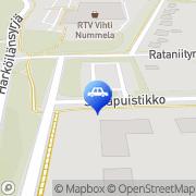 Kartta St1 Nummela Nummela, Suomi
