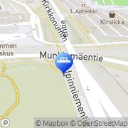 Kartta Teboil Kirkkonummi Kirkkonummi, Suomi