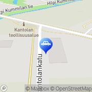 Kartta Neste D-asema Hämeenlinna, Suomi