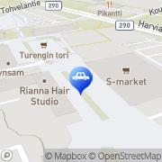 Kartta ABC automaattiasema Turenki, Suomi