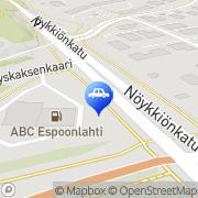 Kartta ABC Deli Espoonlahti Espoo, Suomi