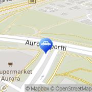 Kartta St1 Espoo Auroranportti Espoo, Suomi