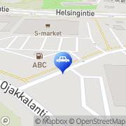 Kartta ABC automaattiasema Nurmijärvi Nurmijärvi, Suomi