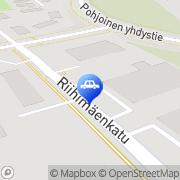 Kartta Moottoripyöräliike AH-Promotor Ky Vaivero, Suomi
