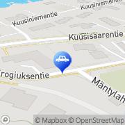 Kartta JS Raappana Tmi Helsinki, Suomi