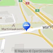 Kartta Neste Oil Express Vantaa, Suomi