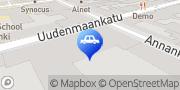 Kartta Punavuoren Autohuolto Oy Helsinki, Suomi