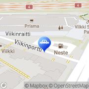 Kartta Neste A24 automaattiasema Helsinki, Suomi