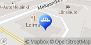 Kartta RJV Autohuolto Oy Helsinki Helsinki, Suomi