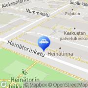 Kartta Oulun Sähködiesel Oy Oulu, Suomi
