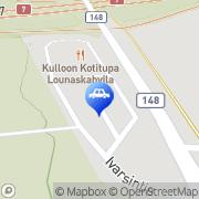 Kartta Teboil D-automaatti Kulloo, Suomi