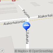 Kartta Raskone Oy Rovaniemi, Suomi