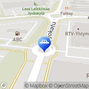 Kartta ABC automaattiasema Jyväskylä, Suomi