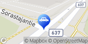 Kartta Jyväskylän Autotarvike Sorastajantie Jyväskylä, Suomi