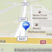 Kartta Neste D-asema Kausala, Suomi
