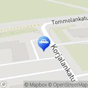 Kartta Kymen MpTuning &  Service Ky Kouvola, Suomi
