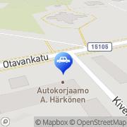 Kartta Nex automaattiasema Mikkeli, Suomi