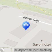 Kartta Kolarikorjaamo Autobody Ky Kuopio, Suomi