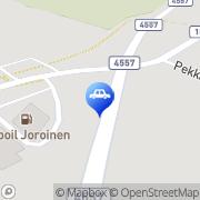 Kartta Teboil D-automaatti Joroinen, Suomi