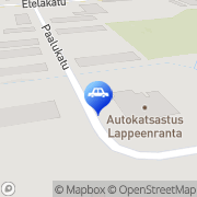 Kartta Hinauspalvelu Hyypiä Oy Lappeenranta, Suomi
