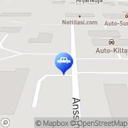 Kartta Imatran Auto ja Koneistus Imatra, Suomi