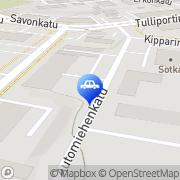 Kartta Savonlinnan Laakeri ja Varaosa Savonlinna, Suomi