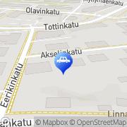 Kartta Savonmaan Auto Oy Savonlinna, Suomi