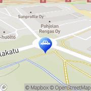 Kartta Neste A24 automaattiasema Joensuu, Suomi