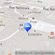 Carte de Distribution Casino France Tourcoing, France