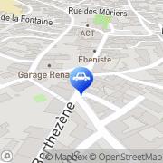 Carte de North City Tire Vendargues, France