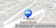 Carte de France Pare-Brise TROYES - ST ANDRÉ LES VERGERS Troyes, France