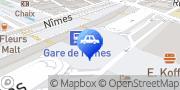 Carte de Parking Q-Park Nîmes Gare Feuchères Nîmes, France