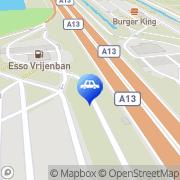 Kaart Bem BV Delft, Nederland