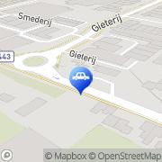 Kaart Esso Noordwijkerhout Noordwijkerhout, Nederland