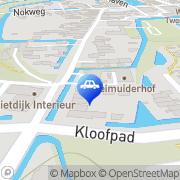 Kaart Kraanverhuur P A Straathof Leimuiden, Nederland