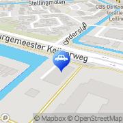 Kaart Keijzer Tankstation De Papendrecht, Nederland