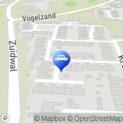 Kaart Licence Autorijschool Julianadorp, Nederland