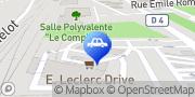 Carte de E.Leclerc Station Service Saint-Clair-du-Rhône, France