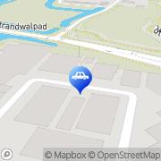 Kaart West Coast Motors BV Alkmaar, Nederland