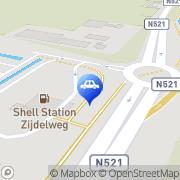 Kaart Shell Station Zijdelweg Amstelveen, Nederland
