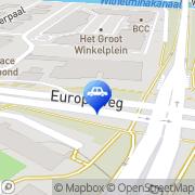 Kaart Total Selfservicestation Oosterheide Heikant, Nederland