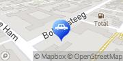Kaart Autobedrijf Vlasveld BV Dongen, Nederland