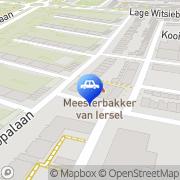 Kaart Rijwielhandel 't Zand Tilburg, Nederland