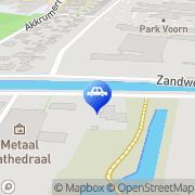 Kaart Baas Auto's Utrecht, Nederland