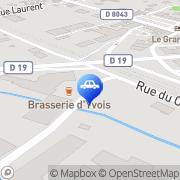 Carte de Yvois Auto Carignan, France