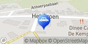 Kaart ROY Auto- en Motorrijschool Knegsel, Nederland
