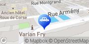 Carte de Parking Indigo Marseille Préfecture Marseille, France