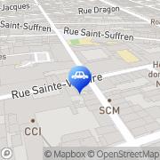 Carte de Auto-Ecole Victoire Marseille, France
