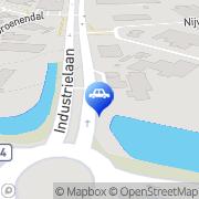Kaart Texaco NET Uden Uden, Nederland